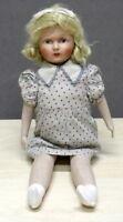 Giocattoli - Bambole antiche - Bambola d'epoca originale in stoffa - Anni '10