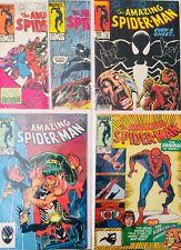 Espectacular Lote de 5 Comics Amazing Spiderman Originales Americanos.1st series