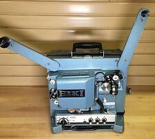 EIKI RT-0 16mm Sound Projector Lamps & Motor Spins in Both Directions Vintage