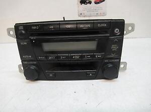 MAZDA PREMACY RADIO FACTORY CD PLAYER, BJ10P, 01/99-06/04 99 00 0