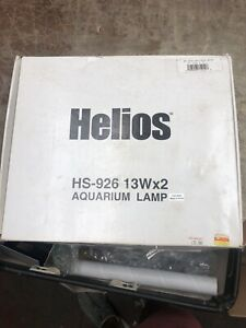 Helios Retrofit Light Reef Aquarium Lamp Fish Double Hs-926 13Wx2