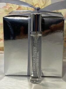 CLINIQUE Happy in Bloom Perfume Spray MINI .17oz/5mL New Gift Box Fast/Free Ship