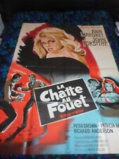 KITTEN WITH A WHIP - ORIGINAL HUGE FRENCH POSTER - ANN-MARGRET - 1964 - LITHO