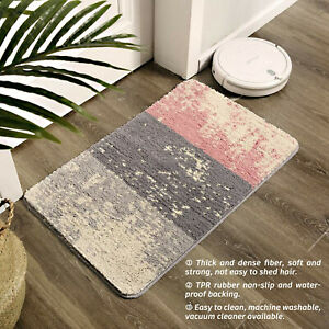 40x60cm Non Slip Indoor Door Mat Washable Super Absorbent Rugs Bedroom Doormat