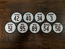 Chicago Bears Magnets - Best Ever - Gale Sayers, Walter Payton, Ditka, Butkus