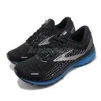 Brooks Ghost 13 Cushion Black Blue Men Road Running Shoes Sneakers 110348 1D