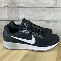 Nike Air Zoom Structure 21 Men's Running Shoes Black White 904695 001 SIZE 8.5