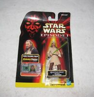 Star Wars Qui-Gon Jinn Action Figure Episode 1 Hasbro 1998 MOC