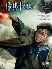 Harry Potter -- Sheet Music from the Complete Film Series: Easy Piano (Paperback