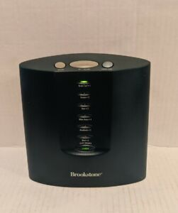 Brookstone Tranquil Moments II Plus Sound Machine Therapy Sleep 6 Sounds
