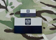 Infrared Poland Flag Patch Set JW GROM Formoza Komandosów Specjalne IR