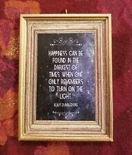 Happiness Can Be Found. Turn on The Light Christmas Ornament Harry Potter Fan