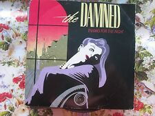 The Damned – Thanks For The Night Damned Records DAMNED 1 UK 7 inch Vinyl Single