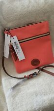 Dooney and Bourke Double Zip Crossbody BNNYL267T CRTN Bag Great Color for Fall