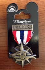 Disney Cruise Line Trading Pin Officer Trading Night 2013 Medal Patriotic