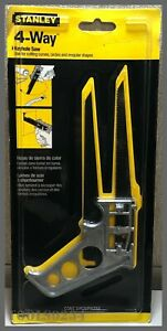 STANLEY® Tools 15-275 - 4-Way Keyhole Saw - Includes 2 Blades!