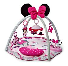 Infant Disney Baby Minnie Mouse Garden Fun Activity Gym Play Mat with Melodies,