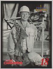 "Valeri Bure 1996 Montreal Canadiens Program Line-Up 8"" x 10"" Molson Export Forum"
