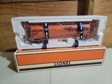 Lionel 6-19344 Rio Grande 3 Bay Cylindrical Hopper Car