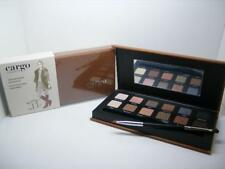 CARGO VINTAGE ESCAPE NIB 12 COLOR EYESHADOW EYE PALETTE WITH DOUBLE-ENDED BRUSH