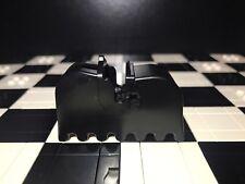 Lego Plain Black Horse Barding / Animal accessory / knights / kingdom / castle