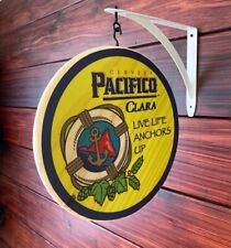Pacifico Clara Double Sided Pub Sign
