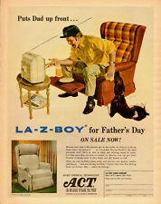 1972 vintage Ad LA-Z-BOY Recliner for Fatheru0027s Day!  sc 1 st  eBay & vintage la z boy | eBay islam-shia.org