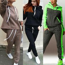 Женские спортивные костюмы комплект лаундж одежда топы + брюки спортивные костюмы с капюшоном костюм большой размер