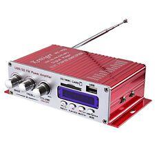Wireless Mini Portable LCD Super Bass Audio Amplifier DC 12V Hi-Fi Stereo Hot