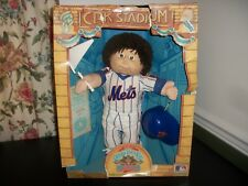 CABBAGE PATCH KIDS ALL STARS BASEBALL LITTLE BOY NY METS DAVE SANDY TONGUE OUT