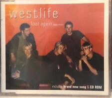 FOOL AGAIN Westlife CD 3 track SINGLE