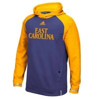 East Carolina Pirates NCAA Adidas Men's Purple Team Sideline Player Hoodie