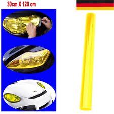 Hell Gelb Scheinwerfer Folie Tönungsfolie 120 x 30 cm Rückleuchten Blinker DE