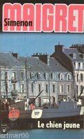 Le chien jaune // Georges SIMENON // MAIGRET // Concarneau