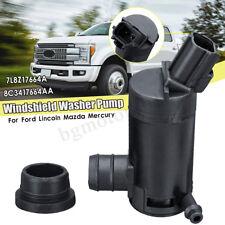 Windshield Washer Pump Set Fit For Ford F150 F250 F350 F450 Explorer 7L8Z17664A