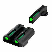 Truglo Tfo Tritium and Fiber-Optic Handgun Sights for Green Front, Rear