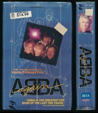 Monterey Betamax NOT VHS ABBA Again 1983 70s Pop Agnetha Faltskog & Frida Disco
