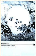 RADIOHEAD A Moon Shaped Pool 2016 Ltd Ed NEW RARE Poster +FREE Indie Rock Poster