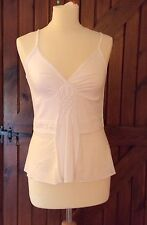 DIKTONS White Camisole Top Size Med