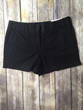 Ann Taylor Loft Outlet Black 4 Inch Shorts Size 4 NWT