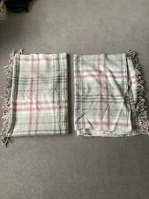 Pair of Ikea Throw Blankets