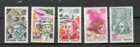 s25098) FRANCE 1973 MNH** Famous persons 5v