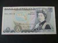 1988 GILL FIVE POUNDS NOTE RD01 FIRST RUN EXTREMELY FINE £5 DUGGLEBY B353.