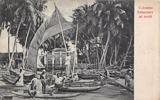 Colombo Fishermen c 1920, Uduman, Tessa Cosgrave Theodore Rd Port Talbot  RK340