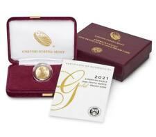 American Eagle 2021W One-Tenth Ounce Gold Proof Coin 1/10 oz - OGP COA - IN HAND