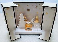 """COLLECTOR Miniature de parfum N°5 """" COFFRET NOËL """" de Chanel eau de parfum  NEUF"""