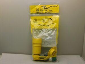 Molex Woodhead 15W47 / 130146-0060 15A 125V Watertight Connector NEMA 5-15