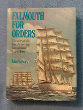 Falmouth for Orders Last Clipper ship race around Cape Horn sailing history vntg