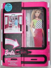 Barbie Fashionistas Kleiderschrank - Mattel DMT 57 - Modekoffer - Neu + OVP