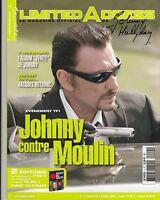 JOHNNY HALLYDAY - LIMITED ACCESS - FANZINE MAG  N° 4 OCTOBRE 2005 TBE